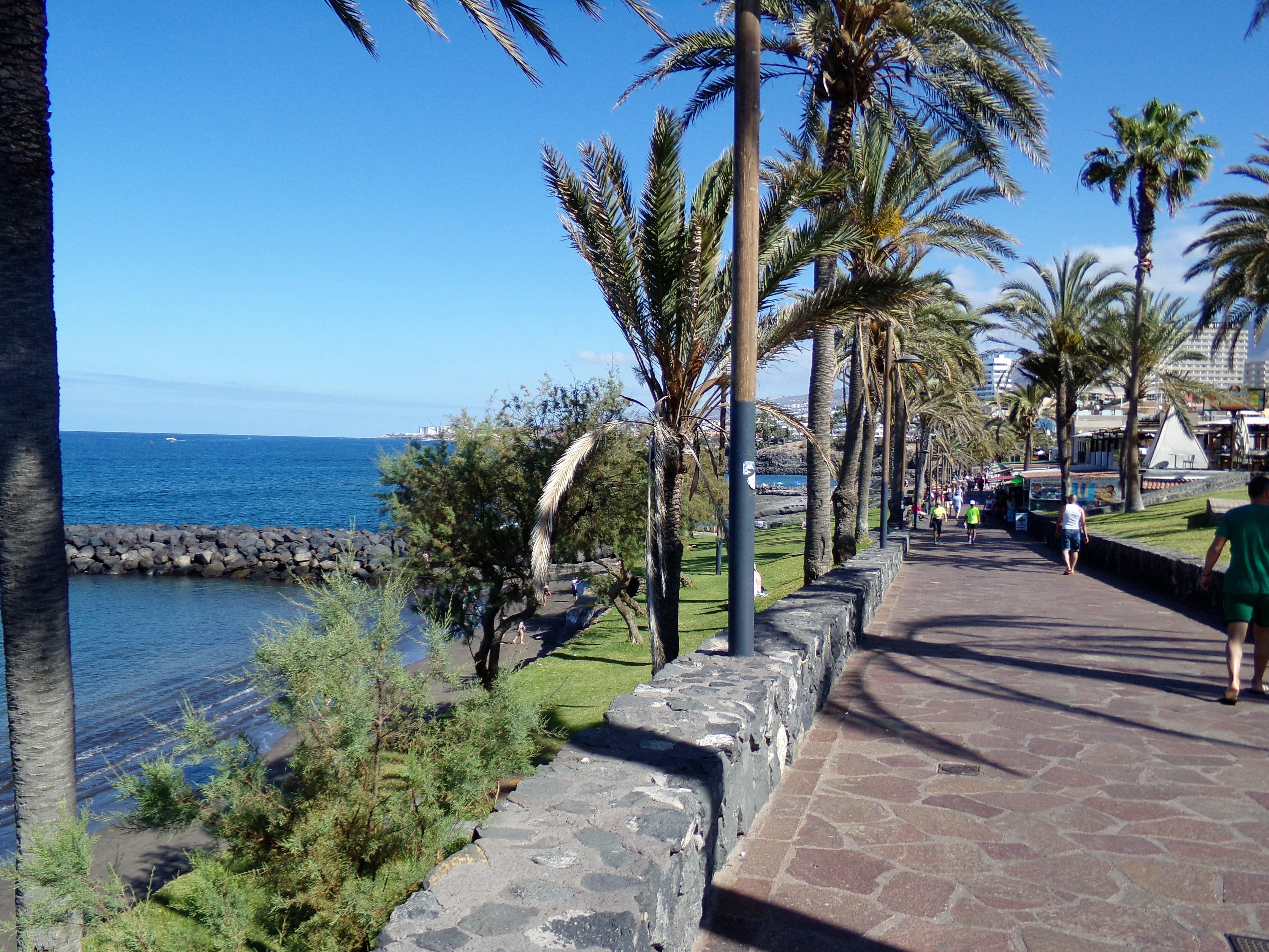 Playa de las Américas Teneriffa Süd Promenade 3