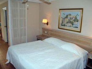 Doppelbett Schlafzimmer Ferienwohnung La Paz in Puerto de la Cruz