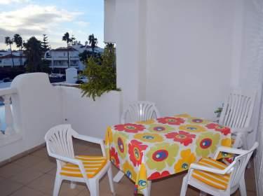 Terrasse Ferienwohnung La Paz in Puerto de la Cruz