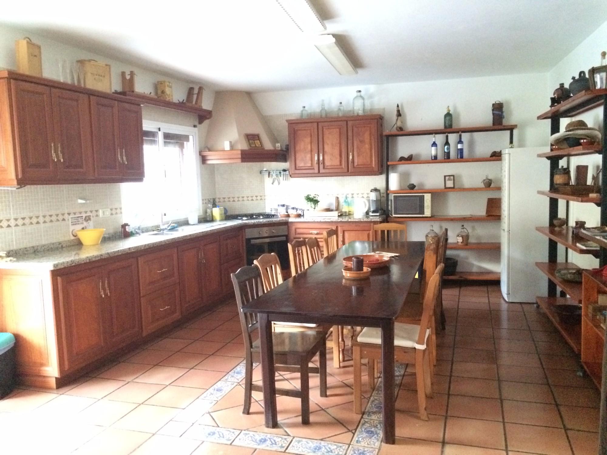 Küche Finca Ferienhaus Tegueste