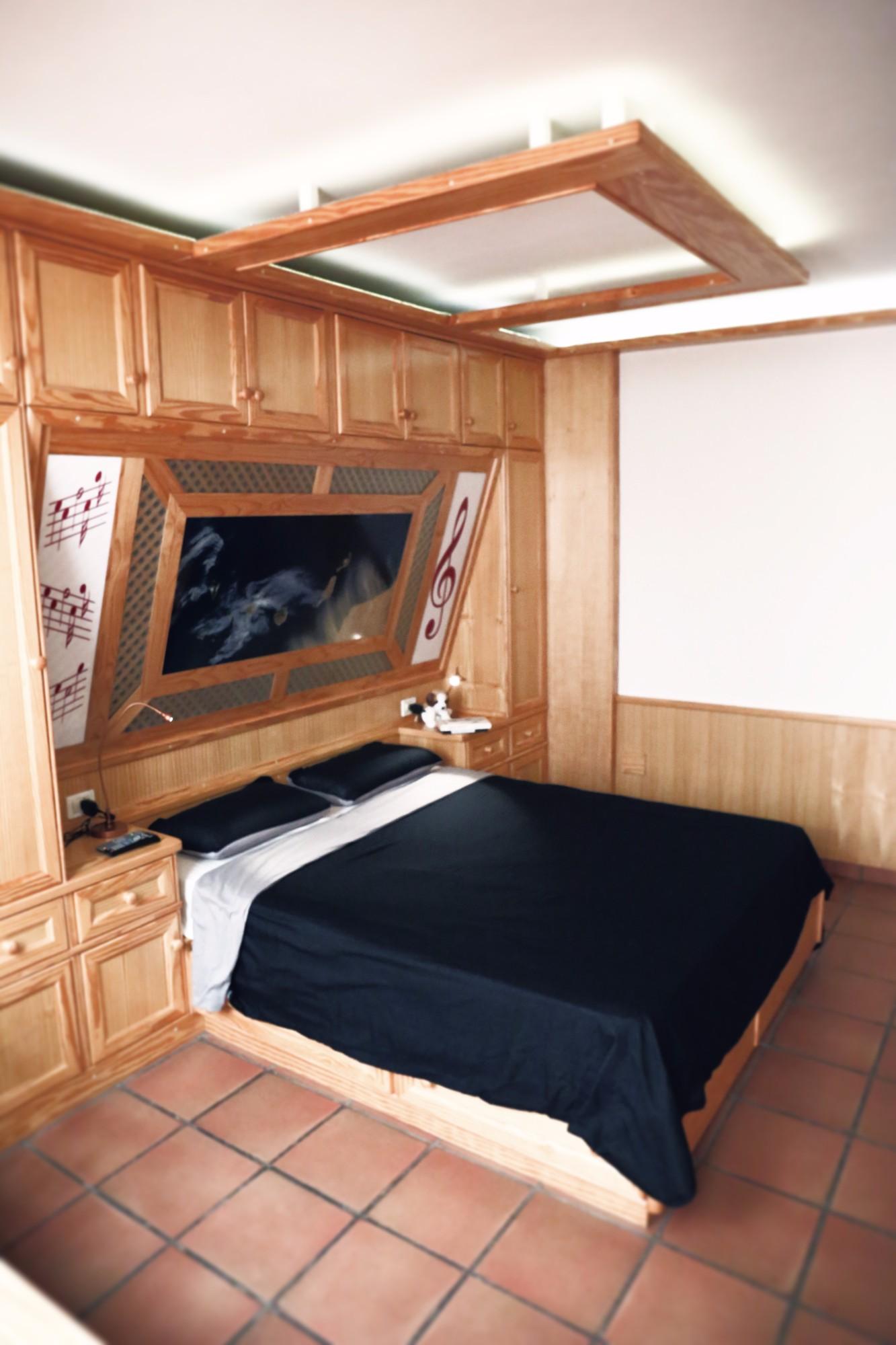 Schlafzimmer 3 Finca Ferienhaus Tegueste
