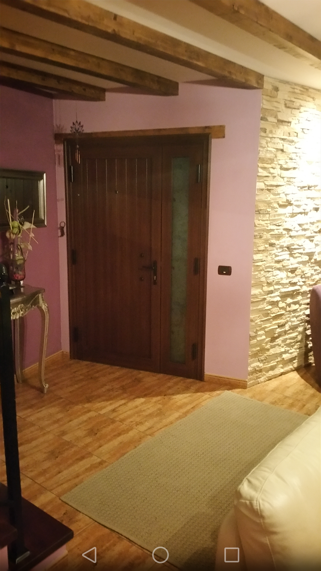 Ferienhaus La Guancha Teneriffa Nord Eingangstür