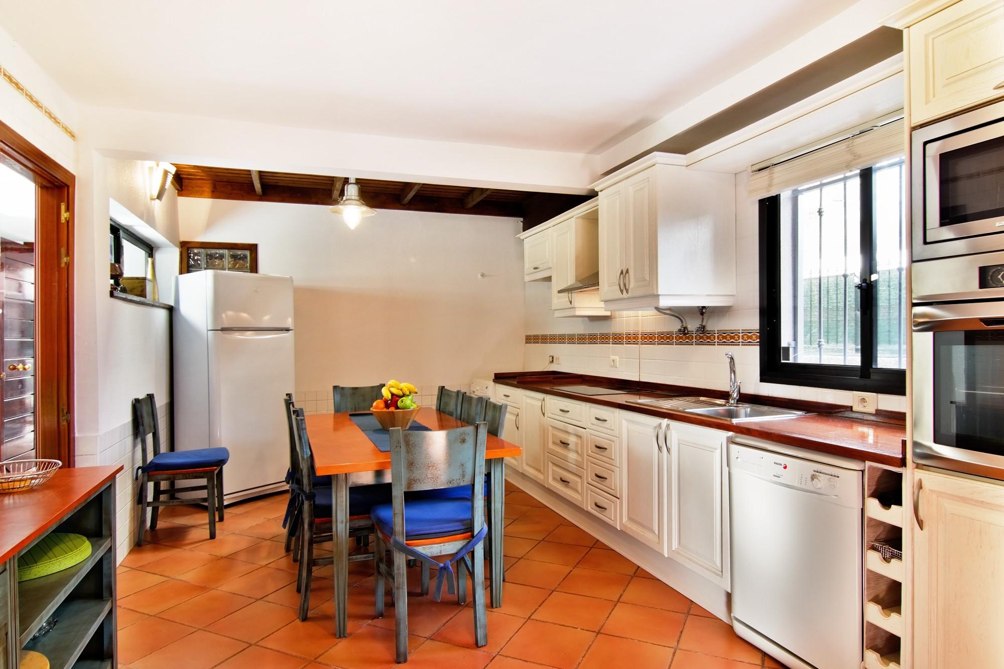 Küche Ferienhaus Adeje Teneriffa