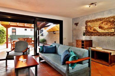 Wohnzimmer Teneriffa Ferienhaus Adeje