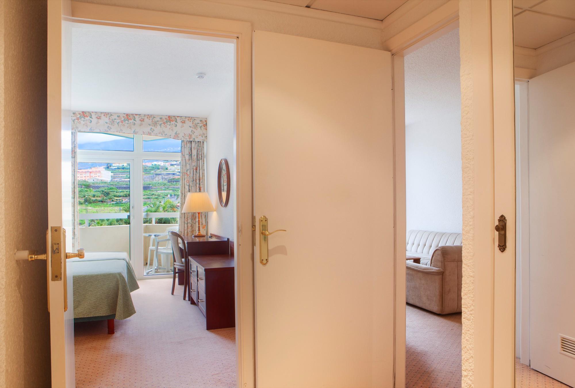 Eingangsbereich Ferienwohnung Hotel Maritim