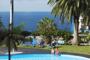Pool mit Meerblick Ferienwohnung Hotel Maritim