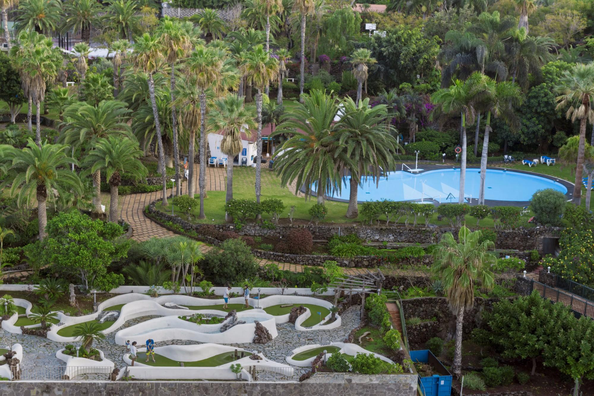Parkanlage Ferienwohnung Hotel Maritim