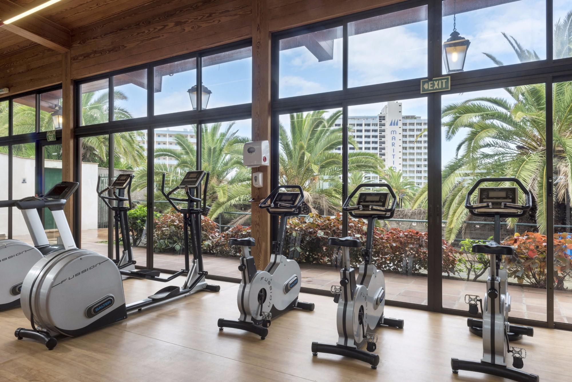 Fitnessstudio Ferienwohnung Hotel Maritim