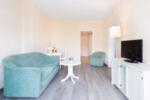 Wohnbereich Ferienwohnung Hotel Maritim