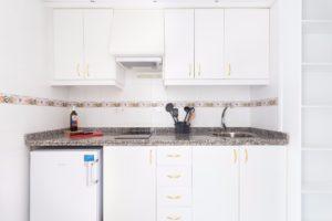 Küche Ferienwohnung Hotel Maritim