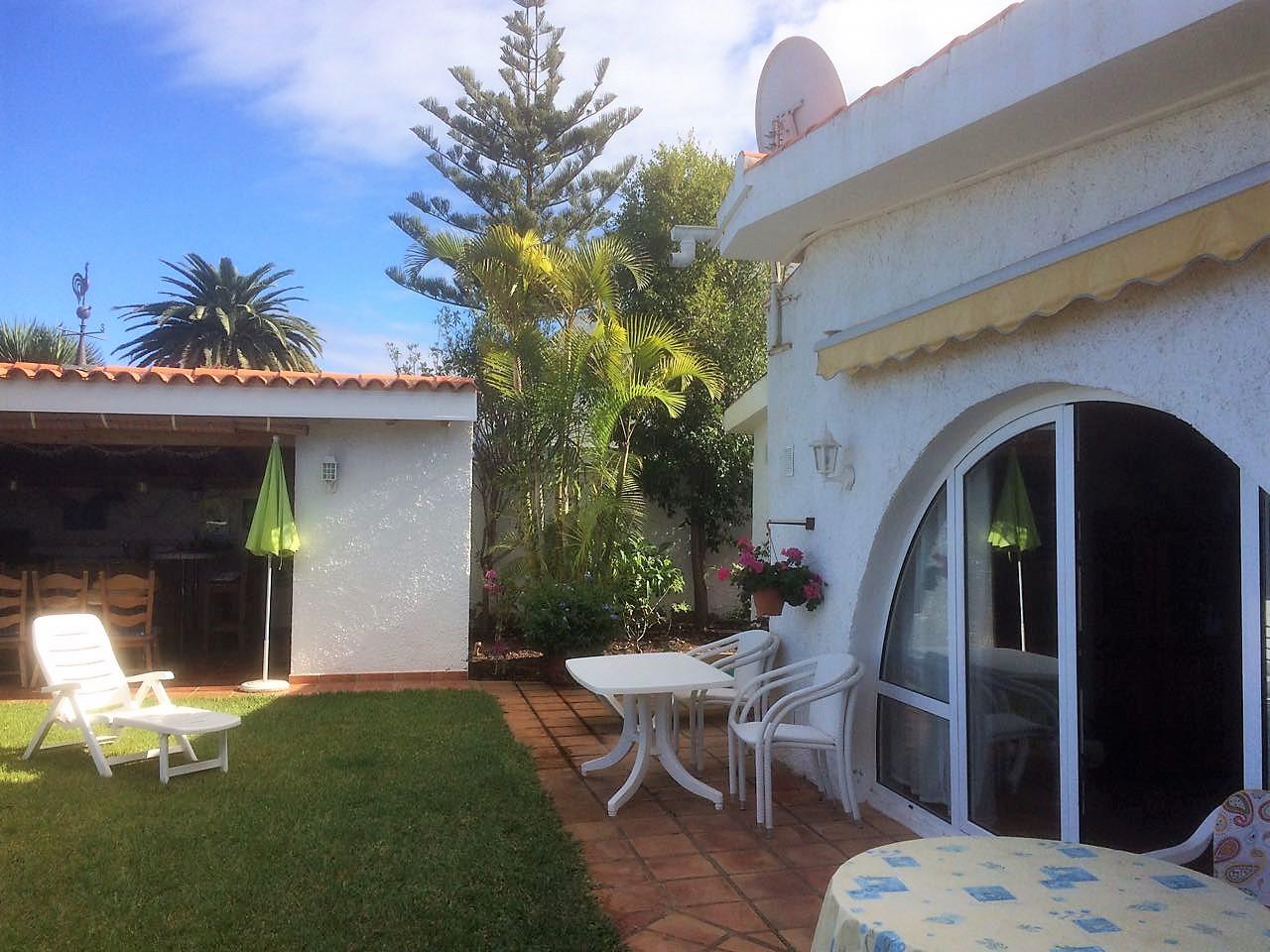 Teneriffa Ferienhaus La Victoria La Palmita Gartenmöbel