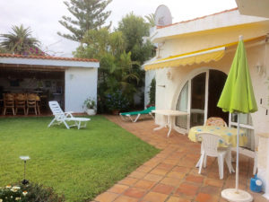 Teneriffa Ferienhaus La Victoria La Palmita Terrasse