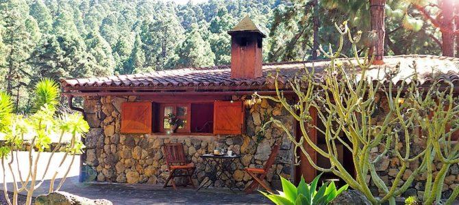 La Guancha – Rustikales Ferienhaus mit Grillplatz an der Waldgrenze