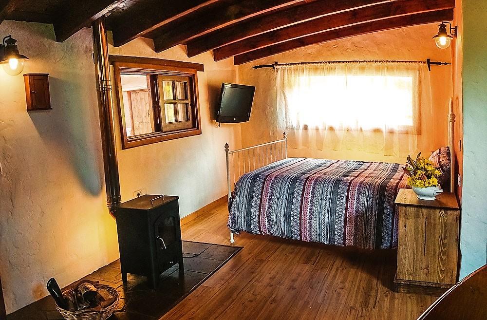 Kaminofen Ferienhaus La Guancha Wandern