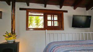Ferienhaus La Guancha Wandern Schlafzimmer Fernseher