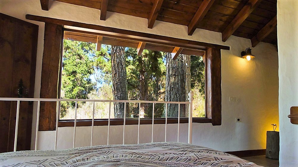 Ferienhaus La Guancha Wandern Schlafzimmer Aussicht