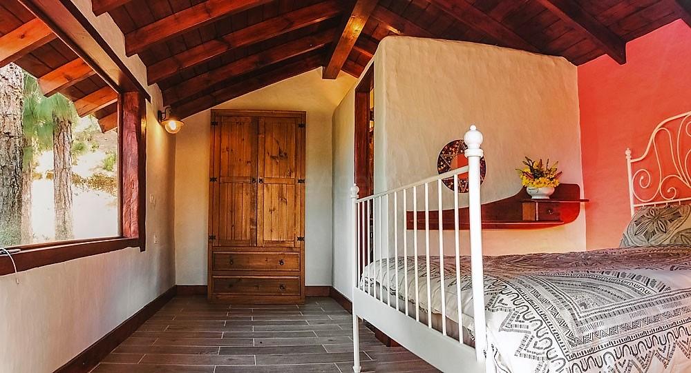 Ferienhaus La Guancha Wandern Kleiderschrank Schlafzimmer