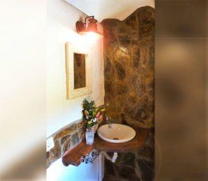 Waschbecken Badezimmer Ferienhaus La Guancha Wandern