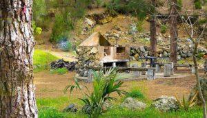 Ferienhaus La Guancha Wandern Grillplatz