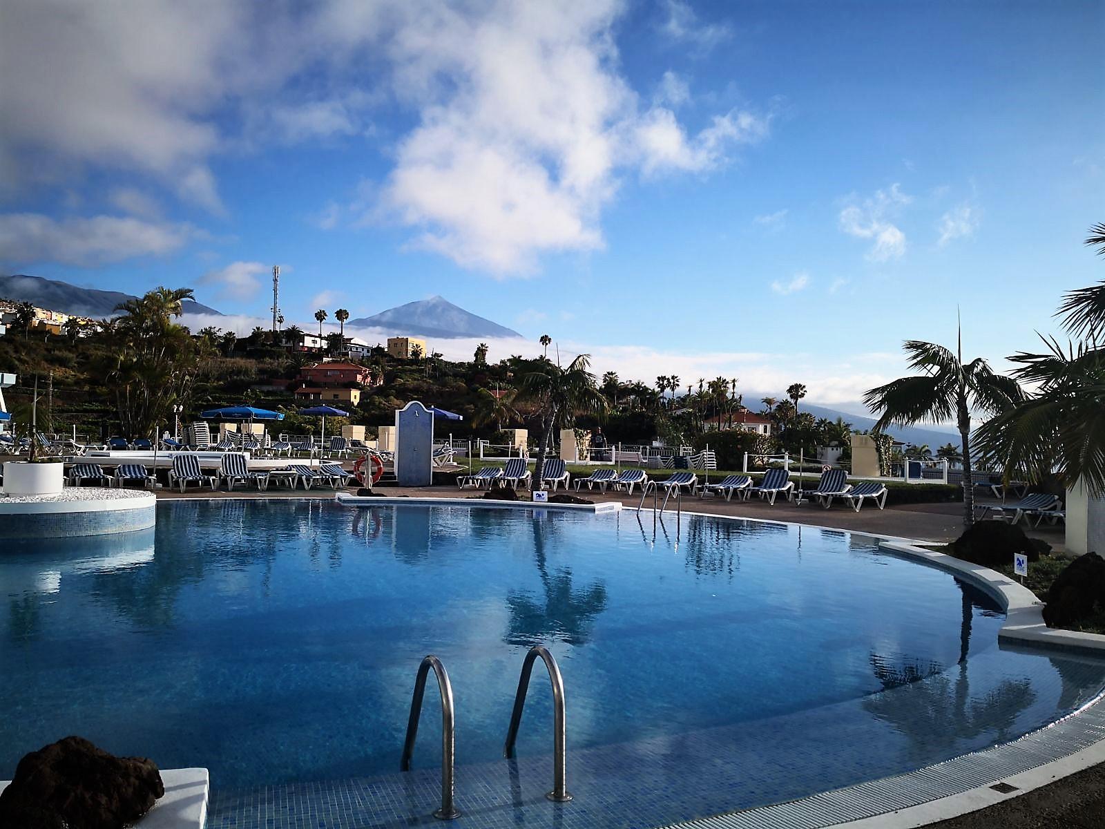 Pool Ferienhaus La Quinta Teneriffa Nord