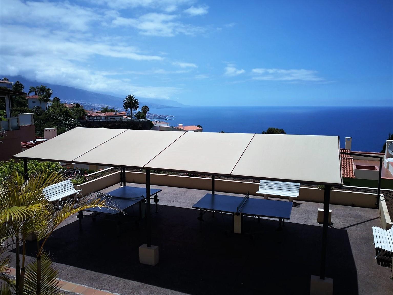 Tischtennis Ferienhaus Teneriffa Nord La Quinta