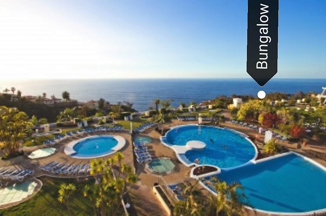 Außenanlage Hotel Ferienhaus Teneriffa Bungalow Hotel La Quinta