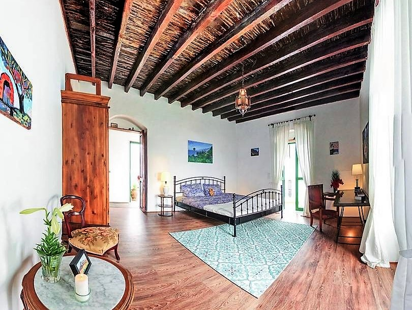 Ferienhaus San Juan de la Rambla Teneriffa Nord Schlafzimmer