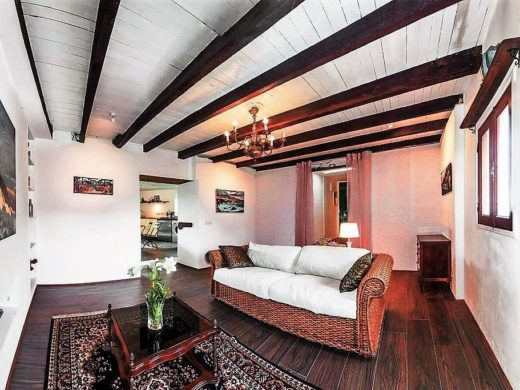 Ferienhaus San Juan de la Rambla Teneriffa Nord Wohnbereich