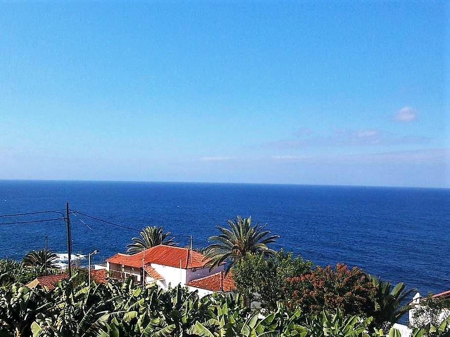 Aussicht Ferienhaus San Juan de la Rambla Teneriffa Nord