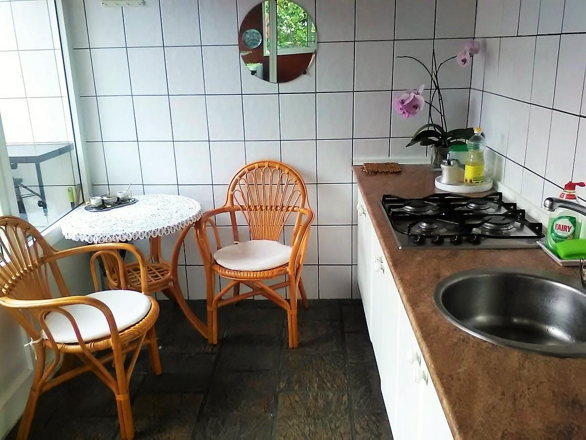 Studio mit Pool La Romantica Teneriffa Nord Küche