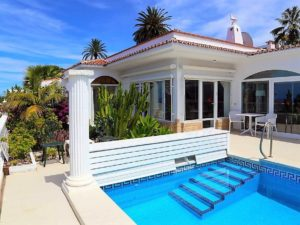 Villa mit Privatpool Teneriffa Nord Pool 1