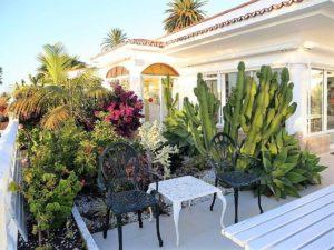Villa mit Privatpool Teneriffa Nord Garten