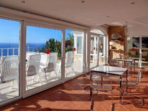 Villa mit Privatpool Teneriffa Nord Wintergarten