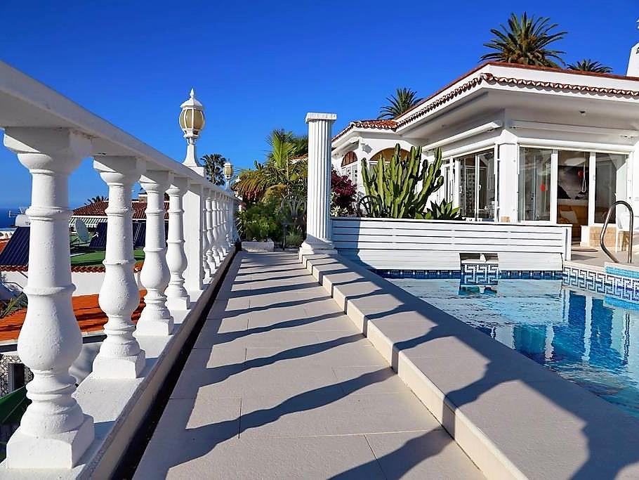 Villa mit Privatpool Teneriffa Nord Pool längs