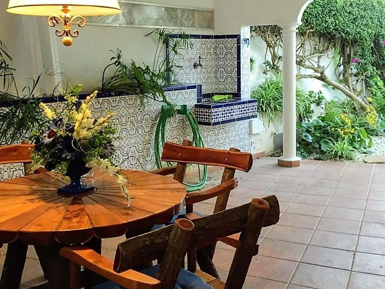 Villa mit Privatpool Teneriffa Nord Terrasse überdacht 2