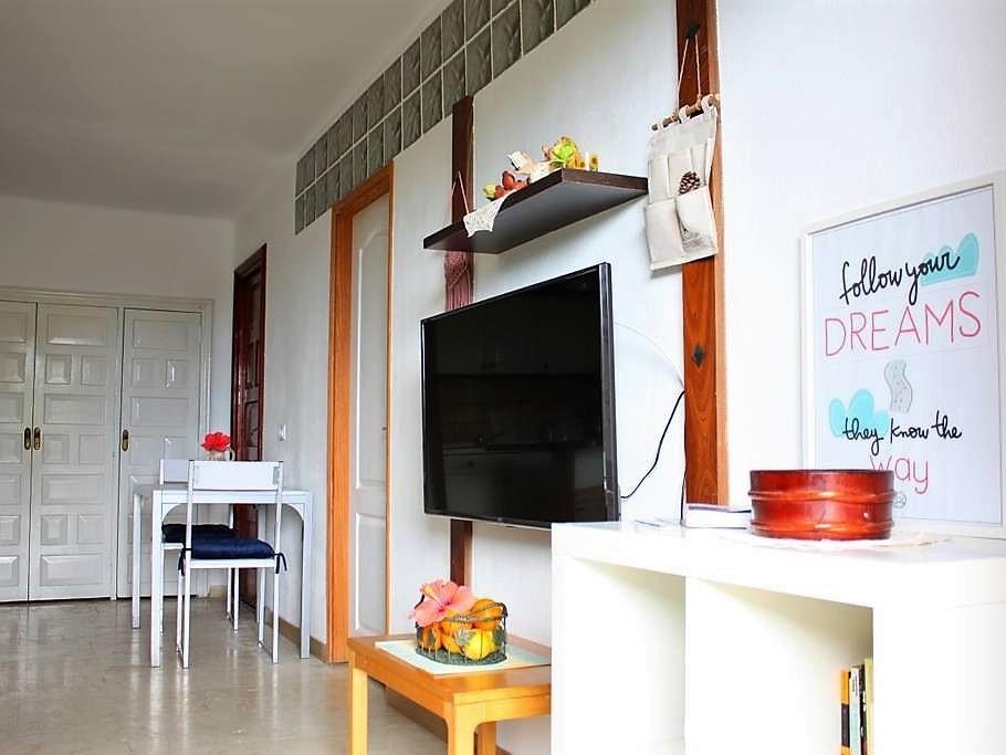 Ferienwohnung La Paz Puerto de la Cruz Wohnbereich
