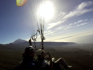 Paragliding Teneriffa Süd
