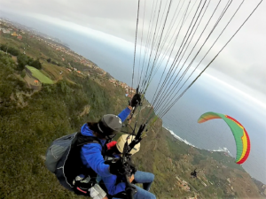 Teneriffa Paraglidng im Norden