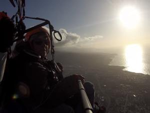Teneriffa Paragliding am Abend