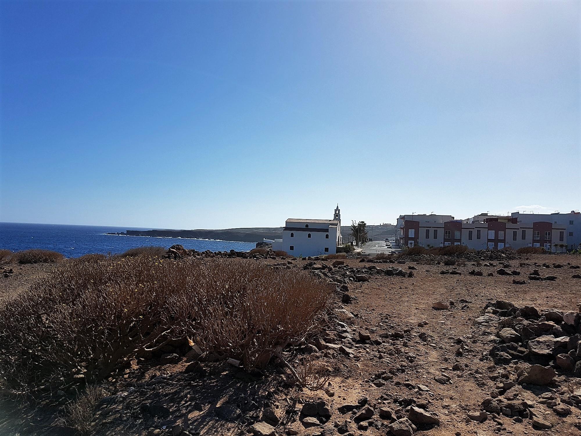 Ferienwohnung El Médano am Strand - La Caleta - Ort