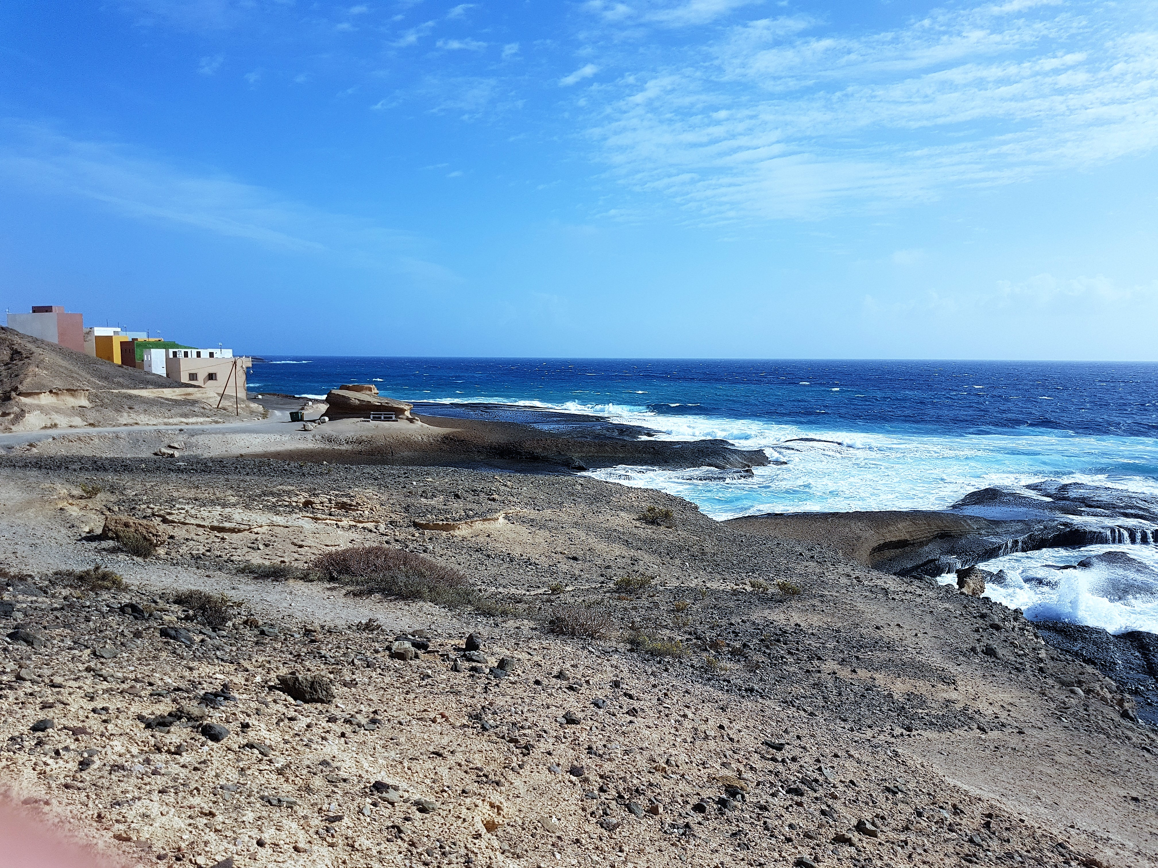 Ferienwohnung El Médano am Strand - La Caleta - Ambiente