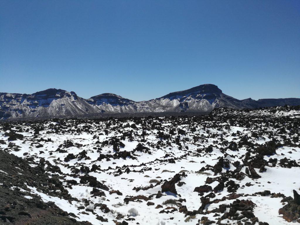 Teide Nationalpark, Schnee, Teide
