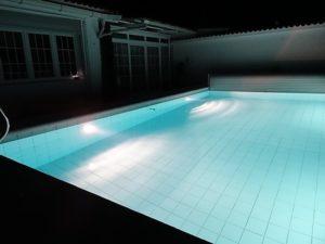 Poolbeleuchtung Ferienhaus La Victoria - La Palmita (13)