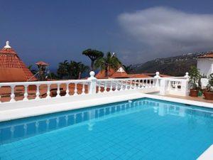Poolbereich 2 Ferienhaus La Victoria - La Palmita (19)