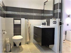 Waschbecken und WC Ferienhaus La Victoria - La Palmita (22)