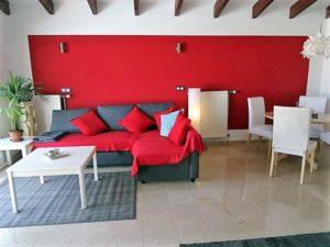 Wohnzimmer Ferienhaus La Victoria - La Palmita (8)