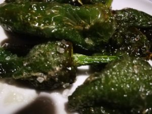 Pimientos de Padron, grüne Pepperoni, Meersalz