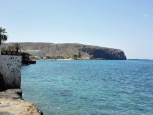 Blick auf das Meer in Los Cristianos