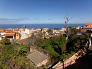 La Orotava Blick über die Stadt