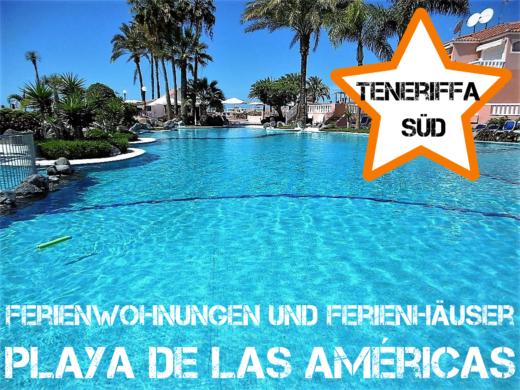 Ferienhäuser und Ferienwohnungen in Las Américas Teneriffa Süd